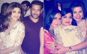INSIDE Pics Of Salman Khan, Katrina Kaif & Many Others Enjoying At Arpita Sharma's House