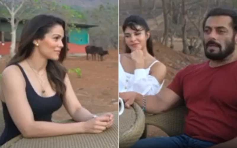 Salman Khan And Jacqueline Fernandez Shoot For Tere Bina At His Panvel Farmhouse; Release In-House Promotional Interview