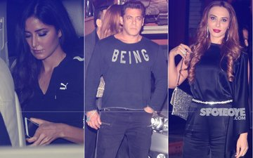 Katrina Kaif & Iulia Vantur UNDER ONE ROOF To Celebrate Salman Khan's Sister Arpita & Aayush's Wedding Anniversary