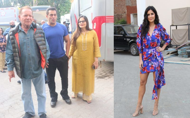 फिल्म भारत के प्रमोशन पर सलमान और कैटरीना संग सलीम खान और अलवीरा अग्निहोत्री भी आए नजर