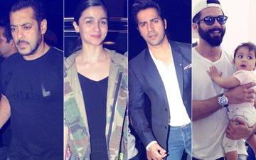 IIFA 2017: Salman Khan, Alia Bhatt, Varun Dhawan Take Off; Shahid Kapoor Introduces Misha To New Yorkers