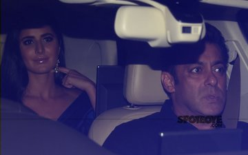 POWER DUO: Salman Khan & Katrina Kaif LEAVE IFFI 2017 In The SAME CAR!