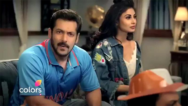 salman khan and mouni roy in bigg boss promo