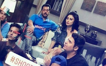 LEAKED: Salman Khan & Mouni Roy Shoot For Bigg Boss 11 Promo?
