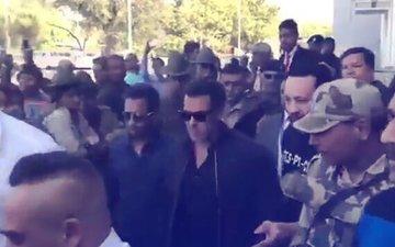 BLACKBUCK POACHING CASE: Salman Khan Reaches Jodhpur Court For Hearing