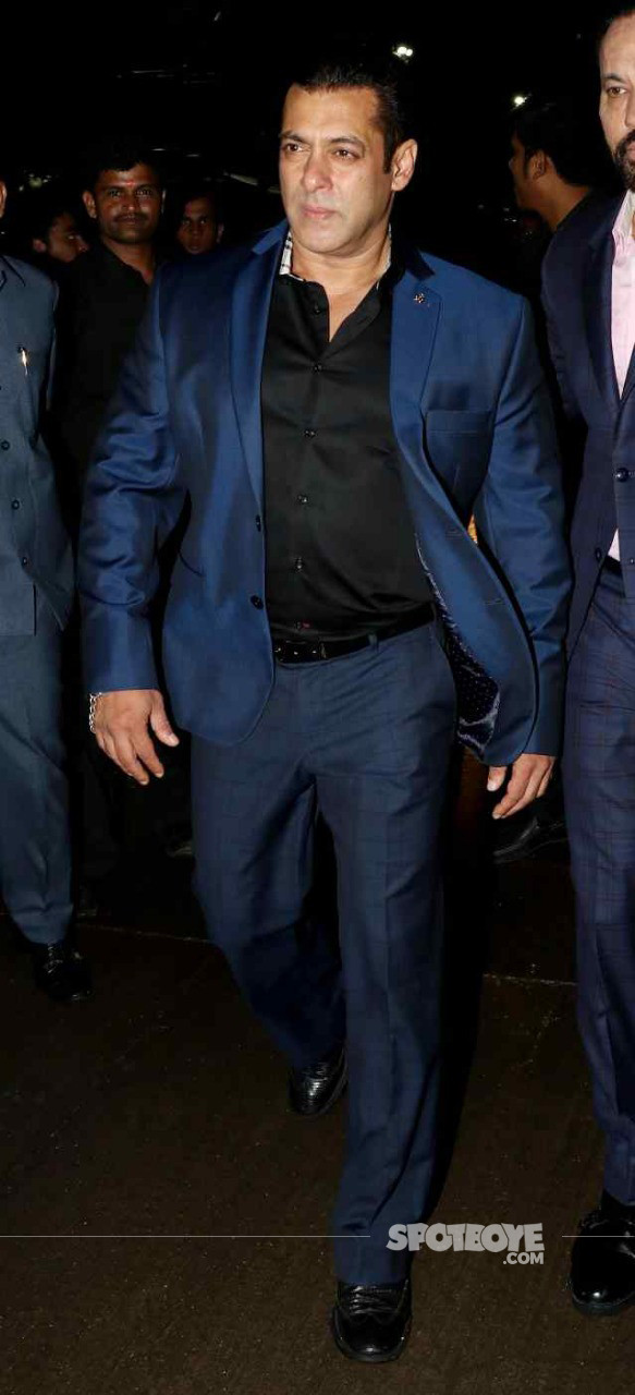 salman khan at poorna patel reception