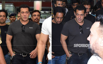 Salman Khan Clicked In Jaipur; Prep Mode On For Dabangg 3?