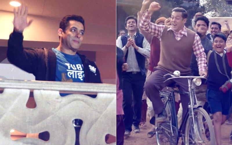 Salman Khan Greets Fans At Special Screening Of Tubelight Trailer