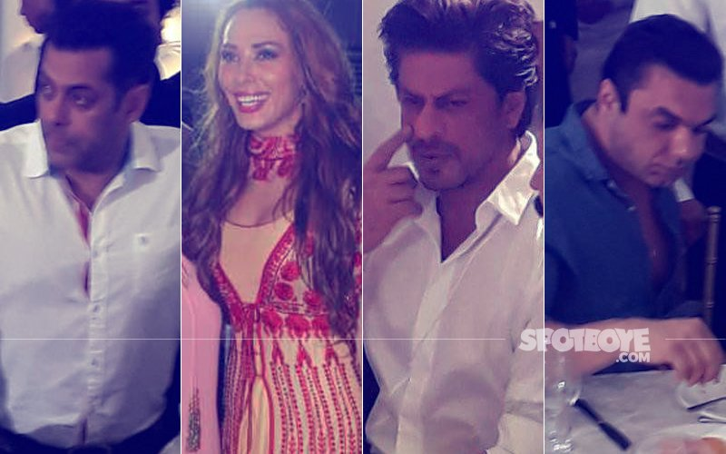 Salman Khan Celebrates Eid With Girlfriend Iulia Vantur,  Shah Rukh Khan & Brother Sohail Join In