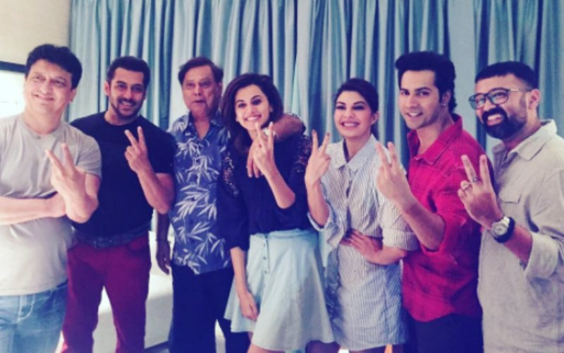 Salman Khan Joins Varun Dhawan To Shoot For His Cameo In Judwaa 2