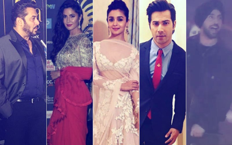 IIFA Rocks, 2017: Salman Khan, Katrina Kaif, Alia Bhatt, Varun Dhawan Walk The Green Carpet; Diljit Dosanjh Enthrals Audience With His Performance