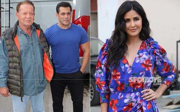 Salman Khan-Katrina Kaif Joined By Salim Khan And Alvira Agnihotri For Bharat Promotions
