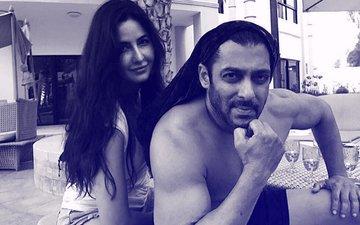 Katrina Kaif & Salman Khan Relax By The Poolside On The Sets Of Tiger Zinda Hai