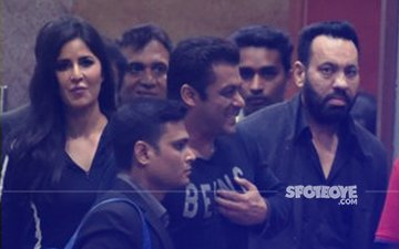 SNAPPED: Katrina Kaif & Salman Khan Post Their Performance At ISL