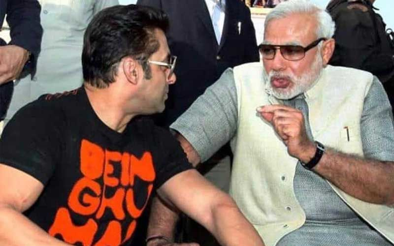 Narendra Modi's 70th Birthday: Salman Khan Extends Warm B'Day Wishes On Prime Minister's Special Day; Shares Throwback Picture Of Them Together