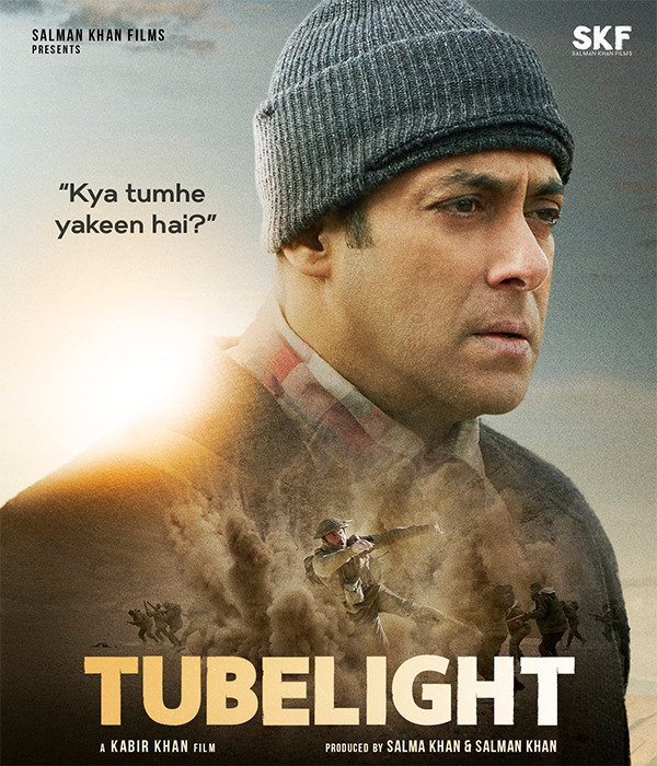salman khan in the movie tubelight poster