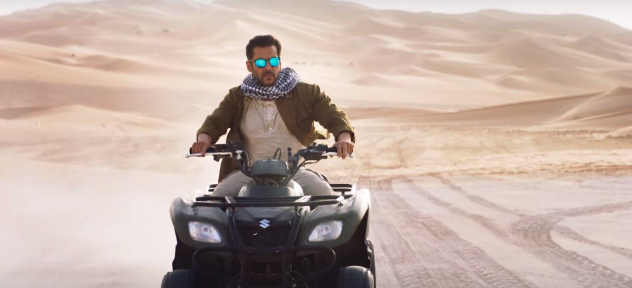 salman khan performs a stunt in tiger zinda hai