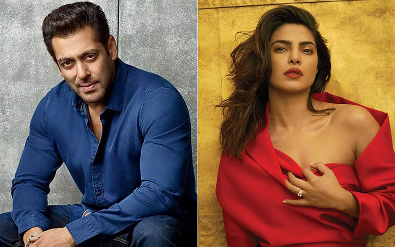 Salman Khan Pokes Fun At Priyanka Chopra; Questions Her For Launching A Dating App Post Marriage To Nick Jonas