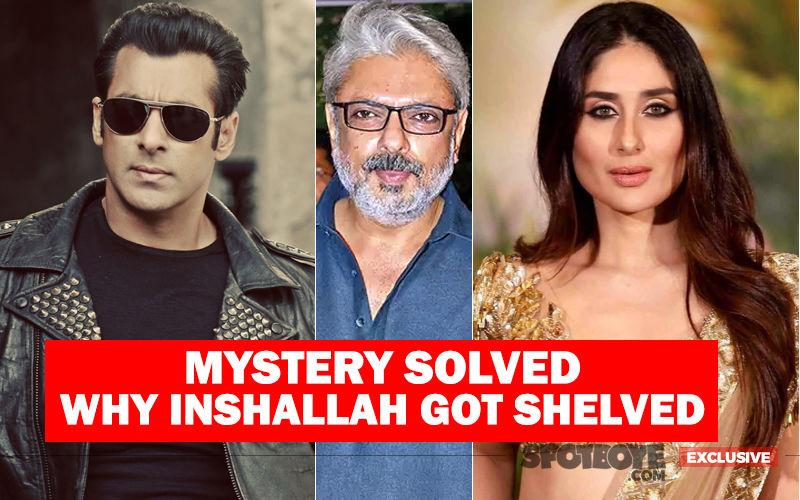 Salman Khan Quit Inshallah For The Same Reason Why Kareena Kapoor Left Ram Leela?- EXCLUSIVE