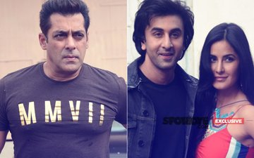 What Happened When Salman Khan Entered Ranbir Kapoor & Katrina Kaif's Interview