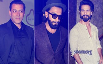 This Is How Salman Khan, Ranveer Singh And Shahid Kapoor Celebrated Mother's Day