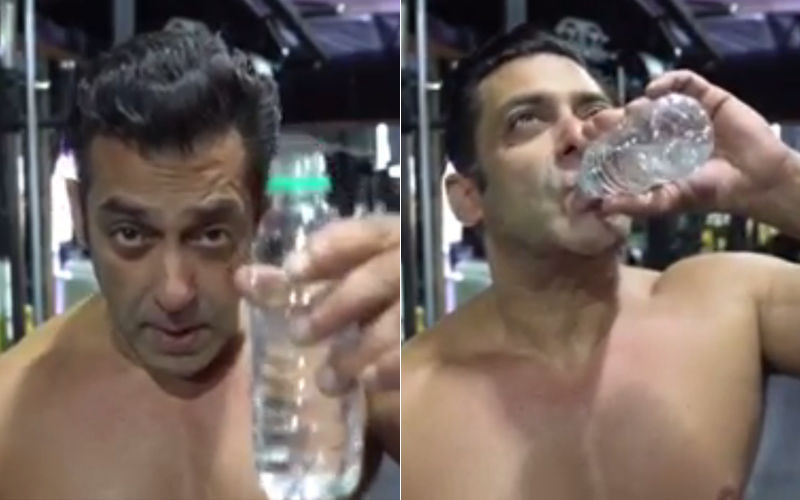 """Salman Khan's #BottleCapChallenge Is All About """"Don't Thakao, Paani Bachao""""; Watch The Fun Video Inside"""