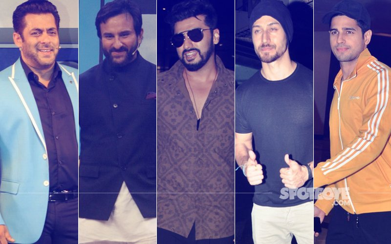 STUNNER OR BUMMER: Salman Khan, Saif Ali Khan, Arjun Kapoor, Tiger Shroff Or Sidharth Malhotra?