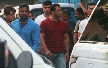 Salman Khan Snapped While On A Property Hunt In Bandra- SEE PICS