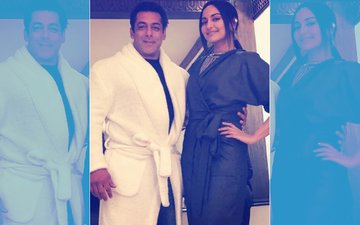 OOPS! Did Salman Khan Just Take A Major Dig At Sonakshi Sinha's Outfit?