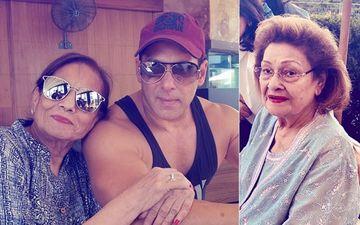 """Krishna Raj Kapoor Death: Salman Khan Says, """"Krishna Aunty... My Mother And Me Will Miss U Always"""""""