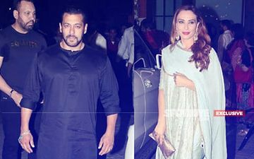 Salman Khan And Iulia Vantur Perform Aarti Together At Arpita Khan's Ganesh Chaturthi Celebrations