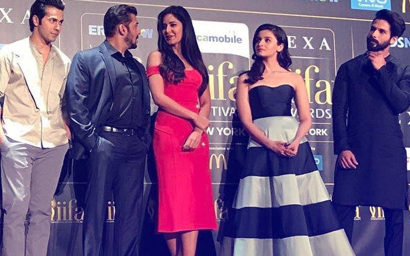 IIFA 2017: Salman Khan, Alia Bhatt, Varun Dhawan, Shahid Kapoor Sing A Birthday Song For Katrina Kaif