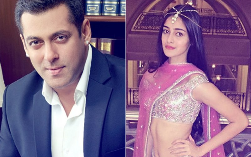 Salman Khan To Launch Chunky Pandey's Daughter Ananya Pandey In Bollywood