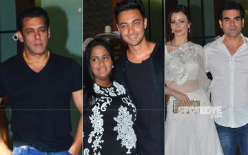 Arpita Khan-Aayush Sharma Anniversary Bash: Salman Khan-Katrina Kaif, Arbaaz-Giorgia Mark Their Attendance