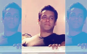 Inside Video From Salman Khan's House:  All The Action From Superstar's Galaxy Apartments Balcony