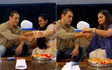 Salman Khan Celebrates Raksha Bandhan With Sisters; Shares Adorable Video Of Arpita And Ayat Tying Rakhis