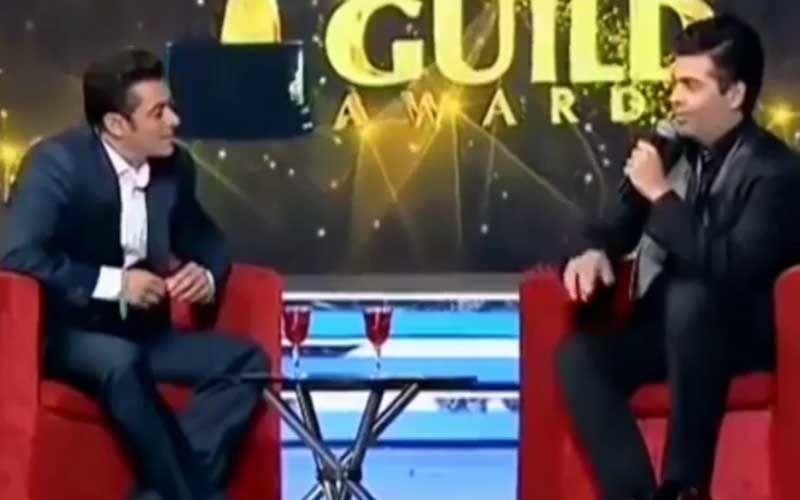 When Salman Khan Hosted 'Sharbat With Salman' And Got Karan Johar To Admit He's A Virgin In A Hilarious Rapid Fire