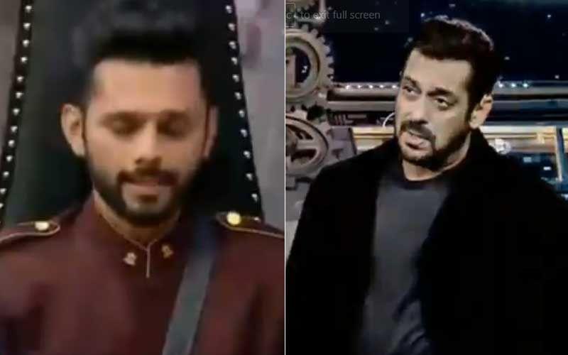Bigg Boss 14 Weekend Ka Vaar: Salman Khan Schools Rahul Vaidya On Nepotism 'Iss Industry Mein Apna Baccha Kisi Pe Thopna Possible Hai?'