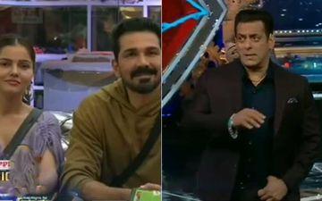 Bigg Boss 14 First Weekend Ka Vaar: Salman Khan Asks Abhinav Shukla To Let Rubina Dilaik Fight Her Own Battle; BB Reveals Eijaz Khan's Secret Past