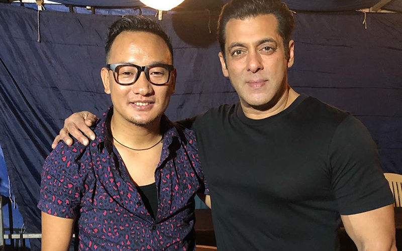 Salman Khan Croons Classic Kishore Kumar Song With Indian Idol Fame Thupten Tsering- Watch Video