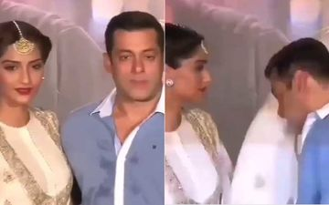 When A Sweaty Salman Khan Used Sonam Kapoor's Dupatta As His Handkerchief- WATCH VIDEO