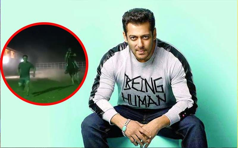 Only Salman Khan Can Race A Horse And Beat It Too – Watch Unbelievable Video