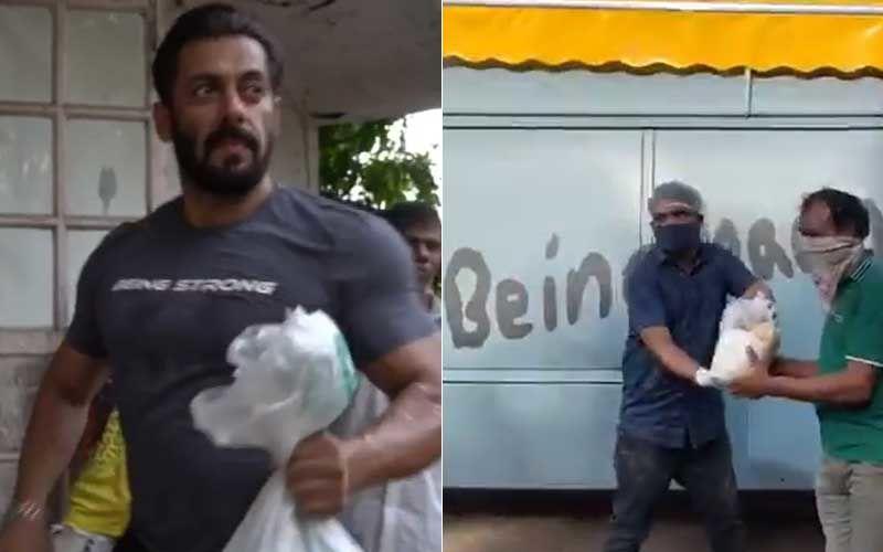 Coronavirus Pandemic: Salman Khan Introduces Food Trucks 'Being Haangryy'; Netizens Can't Keep Calm