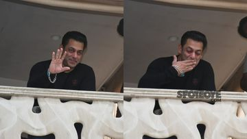 Salman Khan Birthday: Bhai Greets An Ocean Of Fans Gathered Outside His Residence; Sends Out Flying-Kisses