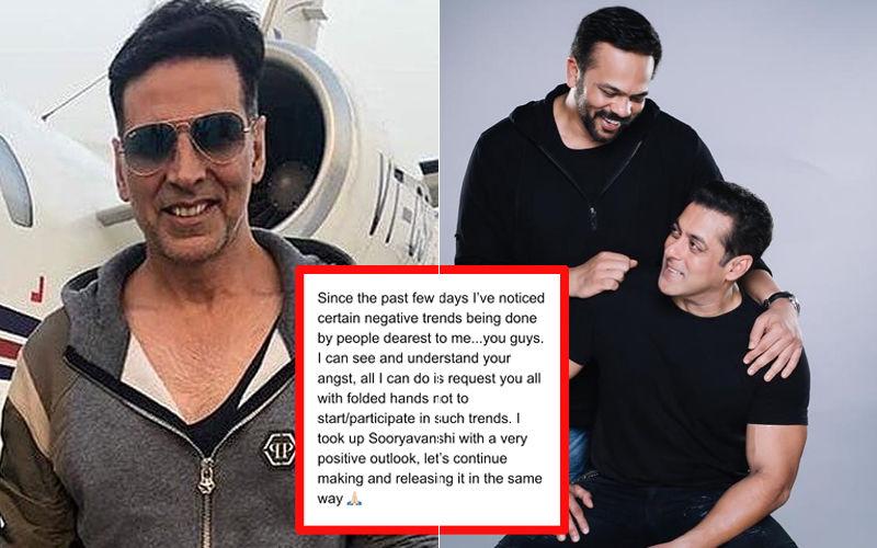 अक्षय कुमार ने ज़ारी किया स्टेटमेंट, कहा सलमान खान,रोहित शेट्टी और मुझपर उट पटांग बाते करना बंद करें
