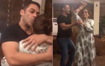 मां सलमा खान संग डांस करते हुए नज़र आए सलमान, इंस्टाग्राम पर शेयर किया वीडियो