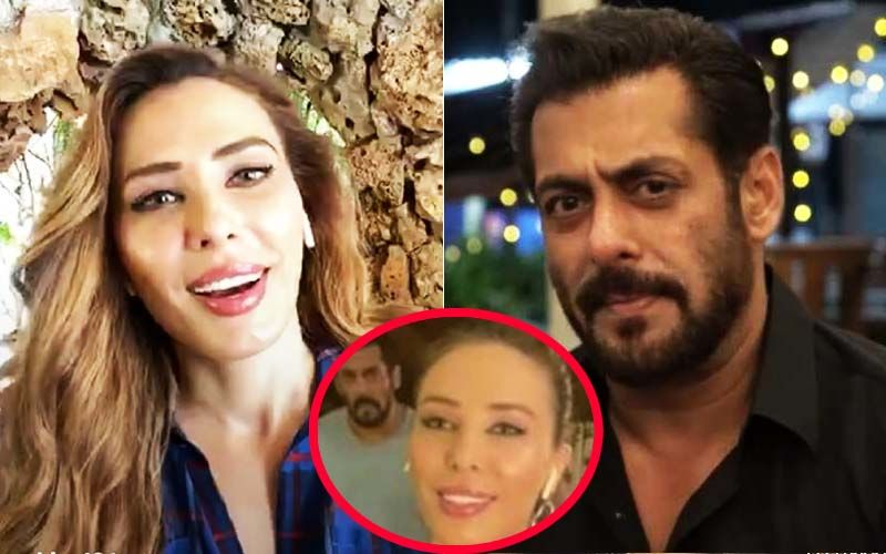 Iulia Vantur Goes Live On Instagram; Curious Fans Ask Where Is Salman Khan After He Accidentally Sneaked Up On Her Last Time