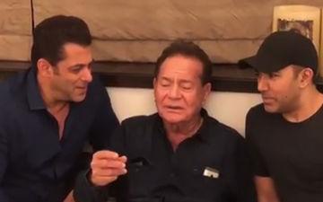 पापा सलीम खान के साथ मिलकर सलमान ने गुनगुनाया गीत, सोशल मीडिया पर शेयर किया वीडियों