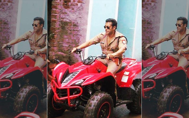 Dabangg 3: Salman Khan Aka Chulbul Pandey Comes Riding An ATV, That Swag Though