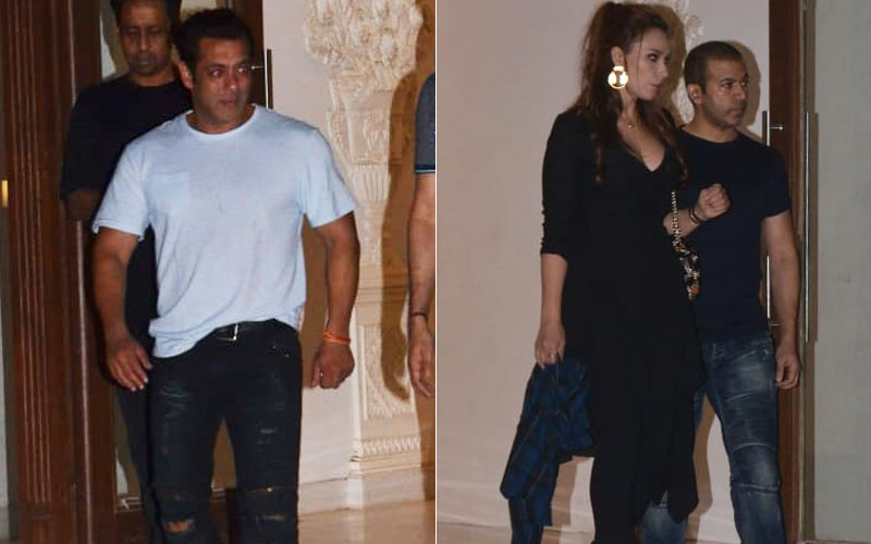 Iulia Vantur Carries Salman Khan's Shirt With A Ton Of Swagger. Being Boss Babe?